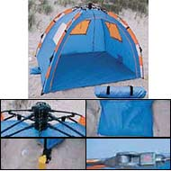 The Instent ® pop up beach tents and cabanas from Abo Gear are easy to use (open and close in seconds) zippered door closes completely for privacy ...  sc 1 st  Ken Roddy Patent Agent & Beach Sun Shelters Tents and Canopies
